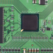 Modern printed-circuit board macro background — Stock Photo #9123458