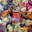 Ceramic jugs and cups — Stock Photo