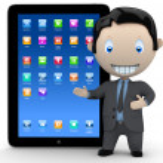 It's a touchpad era! — Stock Photo