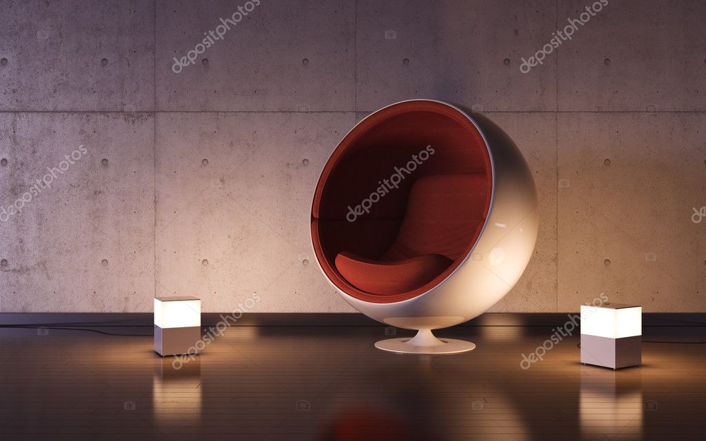 3d HQ interiors with copy spaces series — Stock Photo #9486594