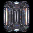 Diamond Emerald (diamonds series) - Stockfoto