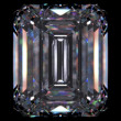 Diamond Emerald (diamonds series) - Foto de Stock