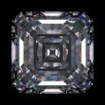 Diamond emerald square (love, valentine day series) — Stock Photo #9599230