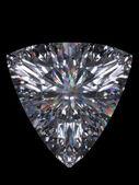 Diamond trillion cut — Stock Photo
