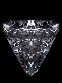 Diamond Trillion (diamonds series) — Stock Photo
