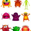 Little monster — Stock Vector #7980015