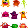 Little monster — Stock Vector