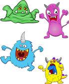 Funny Monster — Stock Vector