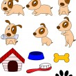Dog Cartoon - Image vectorielle