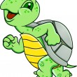 Running Rurtle - Image vectorielle