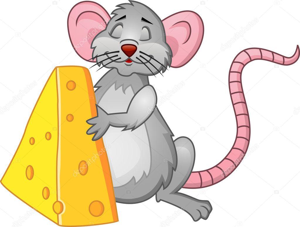 мышка с сыром картинки для детей