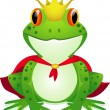 King of frog — Image vectorielle