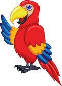 Parrot bird — Stock Vector