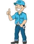Mechanik homme — Vecteur
