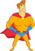 Superhero Showing — Stock Vector
