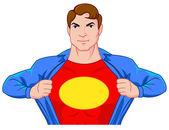 Superhero undercover — Stock Vector