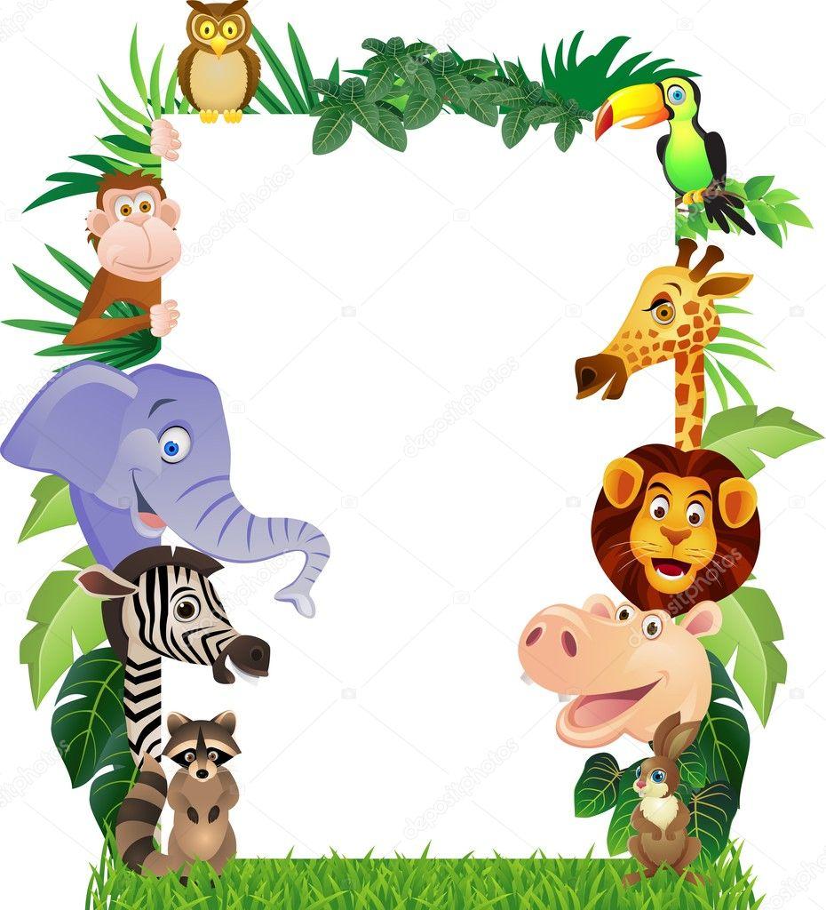 Animal cartoon stock illustration