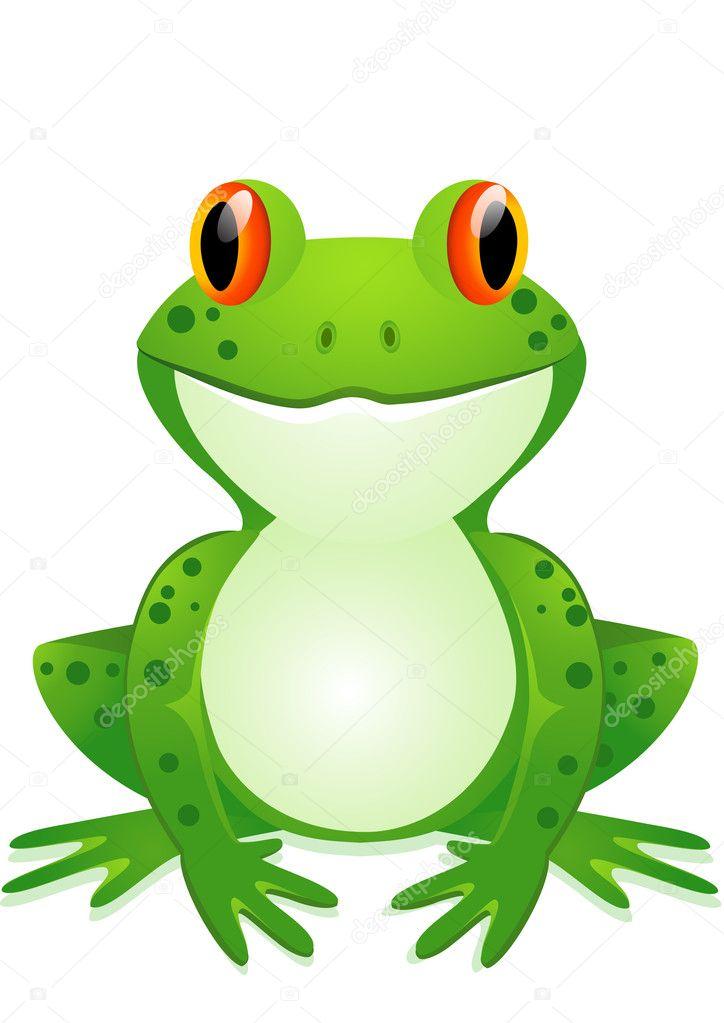V Frog Download Funny toad cartoon —...