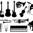 Music instruments — Stock Vector #9084360