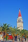 教会与塔扎金索斯岛 — 图库照片