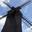 Old, wooden windmill — Stock Photo
