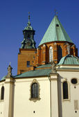 Archicathedral Basilica in Gniezno — Stock Photo