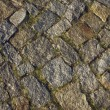 Road cobbled granite cobblestone — Stock Photo