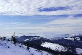 Mountains at winter — Stock Photo