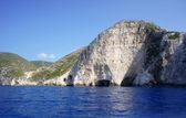 Kliff auf der insel zakynthos — Stockfoto