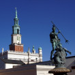 Stock Photo: Tower of City Hall in Poznan
