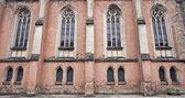 Window in gothic church — Stock Photo