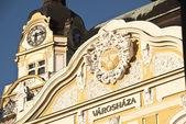 Pécs, l'edificio del municipio — Foto Stock
