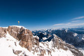 The Zugspitze in Bavary, Germany — Foto Stock
