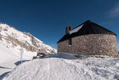 Chapel in the Zugspitze in Bavary, Germany — ストック写真