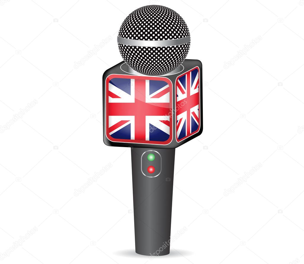 News Microphone Flag Www Imgkid Com The Image Kid Has It