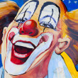 Laughing Clown - Stock Photo