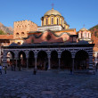 Rila Monastery in Bulgaria. — Stock Photo