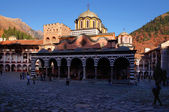 Rila Monastery in Bulgaria. — Stock Photo