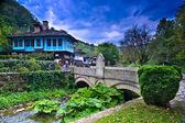 Old Houses in ethnographic complex Etara, Bulgaria — Stock Photo