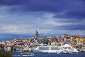 Bosphorus and Galata Tower — Stock Photo