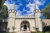 The Gate of Salutation, Topkapi Palace, Istanbul — Stock Photo