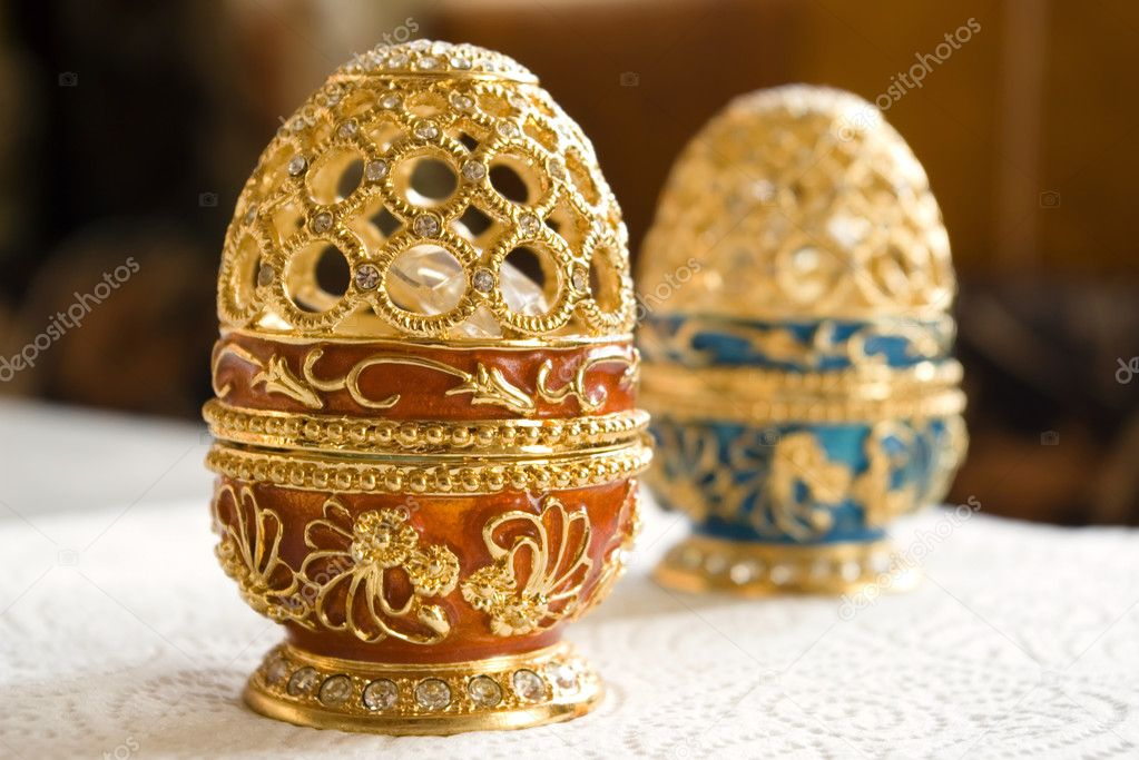 Red Egg Jewelry  Stock Photo #8472863