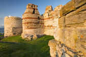 Fortress of old town Nessebar, Bulgaria — Stock Photo