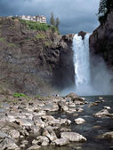 Snoqualmie Falls Washington State USA — Stock Photo