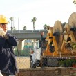 Construction worker at work — Stock Photo #7974632