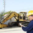 Construction worker at work — Stock Photo #7974643