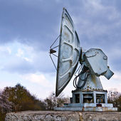 Old military radar — Stock Photo