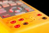 Input output calibrator socket — Stock Photo