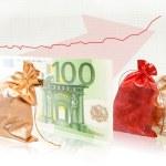 Business success formula commodity money commodity — Stock Photo