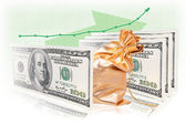 Business success formula money commodity money — Stock Photo
